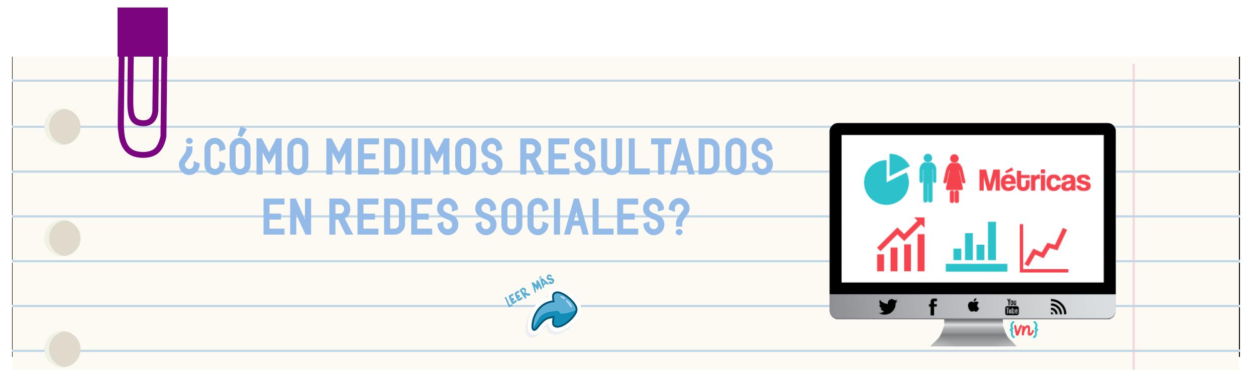 ¿Cómo medimos resultados en redes sociales?